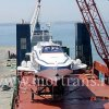Transportation of 2 hydrofoils KATRAN-type from port of Toronto (Canada) to port of Split (Croatia). Dimensions of each boat 34.60 x 10.30 x 11.20 m, unitweight 77 ton.